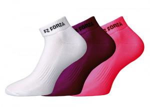 552ea269019cd7 FORZA - Skarpety damskie FZ Comfort pink-purple-white - 3 pary (302452